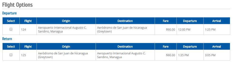 Itinerario Único de Vuelo