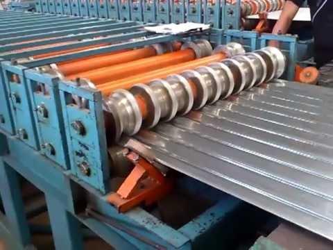 Maquina laminadora de Zinc