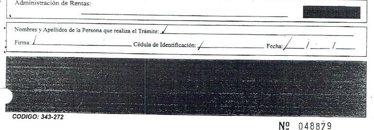 Formulario de Inscripción RUC - Declaración y Firma
