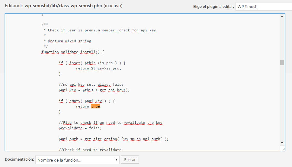 WP smush API true