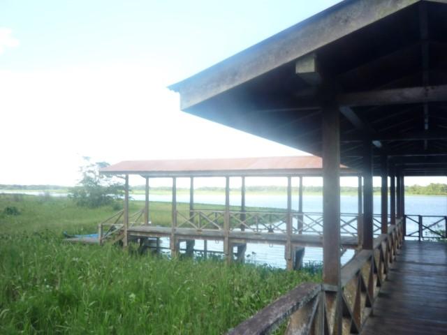 Vista parcial Muelle San juan de Nicaragua