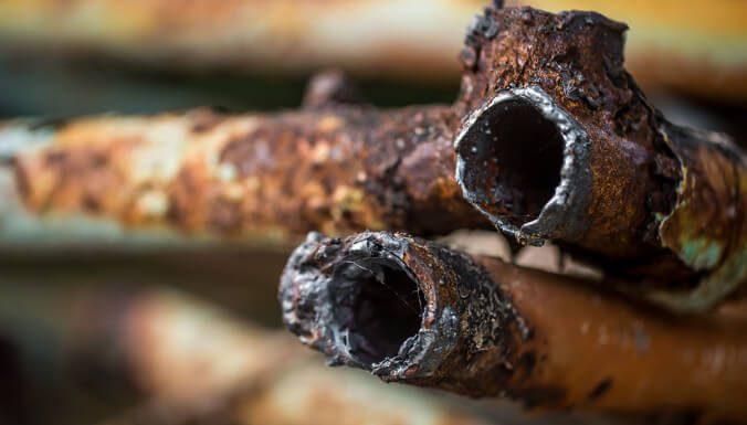 Tubos Oxidados