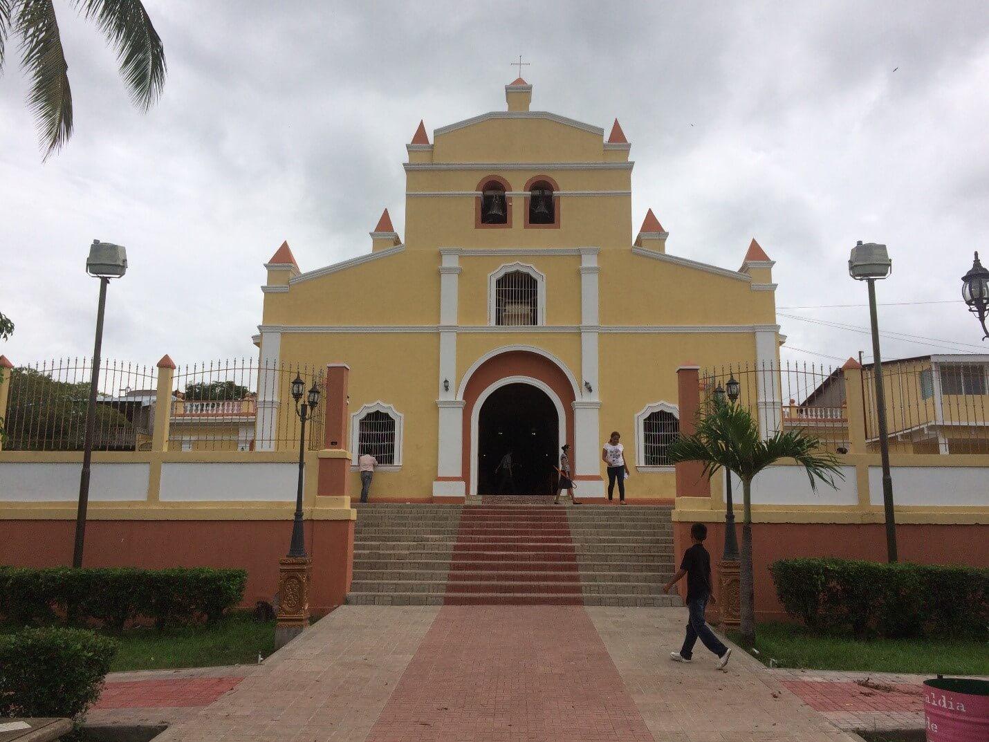 Iglesia San Sebastian - Acoyapa - Nicaragua