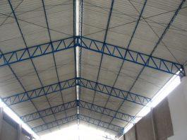 Estructura metálica de techo